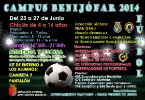 CARTEL CAMPUS FÚTBOL 2014