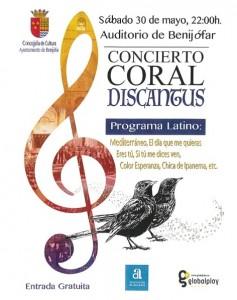 cartel coral 30 de mayo