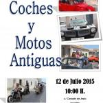 Exhibición de coches y motos antiguas.