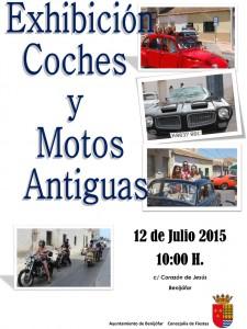 cartel coches antiguos 2015