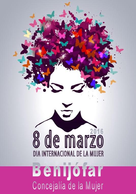 El viernes 4 de marzo comiezan las actividades «DÍA INTERNACIONAL DE LA MUJER»