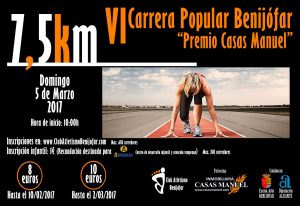 "CARRERA POPULAR DE BENIJÓFAR ""PREMIO CASAS MANUEL"""