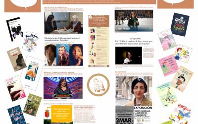 8 de Marzo 2021.  Día Internacional de la Mujer.  Empoderamiento Femenino.  Agenda de recomendaciones.